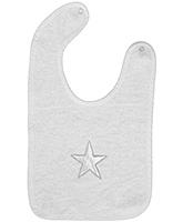 Taftan European Brand Bib Star White