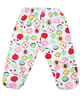 Babyhug Footed Leggings - Fruit Print