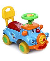 Fab N Funky Musical Loco Manual Push Ride On Multicolor