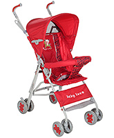 Fab N Funky Light Weight Baby Stroller - Red