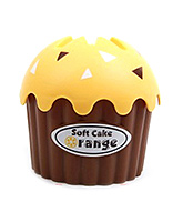 EZ Life Cute Cup Cake Tissue Holder - Yellow