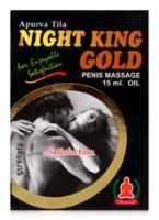 Mahaved Apurva Tila Night King Gold Penis Massage Oil