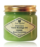 Just Herbs Aloe Vera Facial Massage Gel