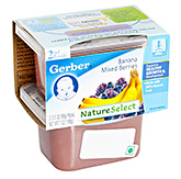 Gerber® Banana Mixed Berries