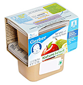 Gerber® Bananas with Apples & Pears