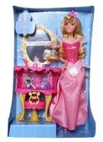 Disney Princess - Aurora (Sleeping Beauty) 3 Years+, Doll And Vanity Table Playset