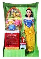 Disney Princess - Snow White 3 Years+, Doll And Vanity Table Playset