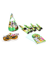 Buy Birthday Party Kit Jungle Themed