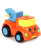 Fab N Funky Toy Truck - Orange