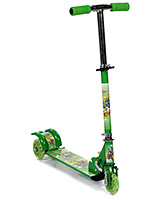 Fab N Funky Three Wheel Scooter - Green