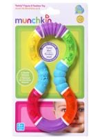 Twisty Figure 8 Teether Toy 6 Months+, 4 Gentle Textures