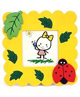 Fab N Funky Photo Frame - Ladybug Motif