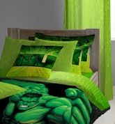 D'Decor - Hulk Single Bed Sheets & One... Accessorize his room with bedsheet and pillow featur...
