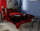 D'Decor - Spiderman Single Bed sheet with... Add some spunk to his room