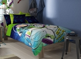 D'Decor - Toy Story Single Bed sheet & One... Accessorize his room with bedsheets and pillow cover...