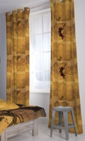 D'Decor - Pirates of the Carribbean Door Curtains - 1 Piece