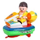 Super Boat 360 Degree Rotate Light And Music Boat With Light And Music