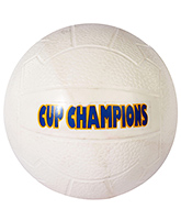 Fab n Funky Kids Ball Cup Champions Print - White