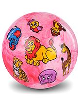 Fab N Funky Kids Ball Animal Print - Light Pink