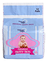 Fresh Ones - Premium Nappy 12, Super Absorbent And Disposable