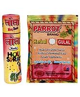 Tota Herbal Spray Gulal Combo