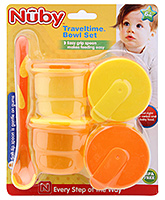 Dishes &amp; Utensils - Nuby - Traveltime Bowl Set