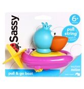 Sassy Pull &amp; Go Boat