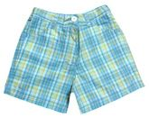 Juniors Checks Shorts - Blue