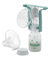Buy Ameda - One Handed Breast Pump With Flexishield Areola Stimulator