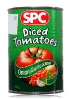 SPC Diced Tomatoes Onion, Garlic & Basil