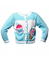 Sweater - Aqua Blue