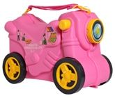 Molto - Bike Jumbo Smiler Pink Suitcase