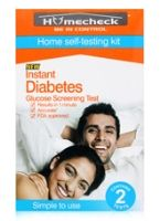 Homecheck Instant Diabetes Glucose Screening Test