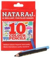 Nataraj - 10 Brilliant Colours 