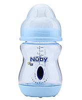 Nuby - Vented Bottle with Sure Temp Heat Sensor