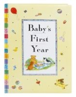 Baby's First Year Record Book For All Those Important, Funny, Happy Me...