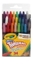 Stationery - Crayola - Mini Twistables Crayons