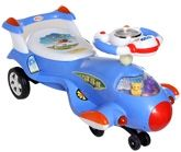 BSA - Slidor Swing Car Blue Blue, Fantastic For Kids, Light And Music Is Present...