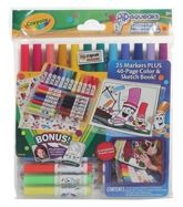 Stationery - Crayola - Pipsqueaks Washable Markers N Sticker Set