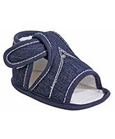 Buy Little Denim Baby Sandals - 0 - 1 Years