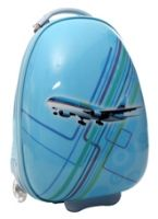 Trolley Bag 2 Wheel Sky Blue
