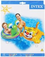Intex - Deluxe See Me Sit Rider Frog 3-5 Years,  A Fun Pool Accessory For Children