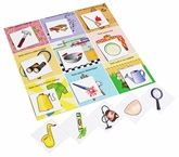 Tool Box Puzzle 3 - 5 Years, Colorful Pictures Of Tools Used In Gard...