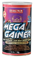 Matrix Nutrition Mega Gainer Dietary Supplement - Chocolate Flavor