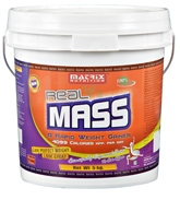 Matrix Nutrition Real Mass Rapid Weight Gainer - Chocolate Flavor