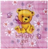 Buy Riethmuller - Birthday Girl Napkins