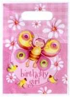 Buy Riethmuller Party Loot Bag Birthday Girl Print - Pack Of 6