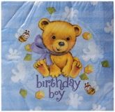 Riethmuller - Birthday Boy Napkins
