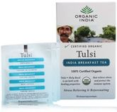 Organic India Tulsi India Breakfast Tea