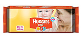 Huggies Dry Diapers XL - 5 Pieces